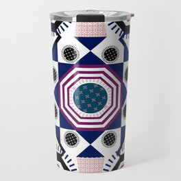 Mixed Emotions Mandala Travel Mug