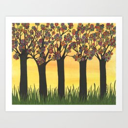 Summer Meadow Art Print