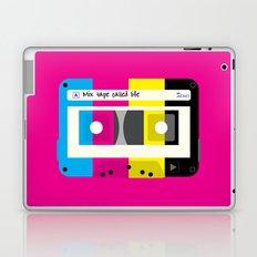 CMYK Mix tape called life Laptop & iPad Skin