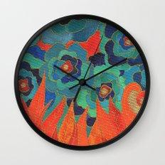 Tongues Wall Clock