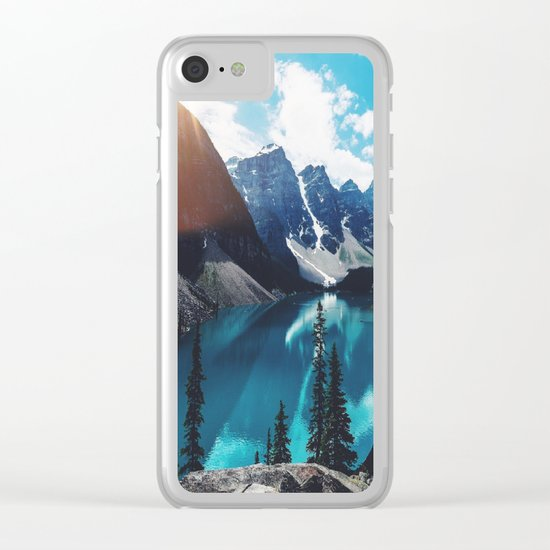 Lake Moraine Clear iPhone Case