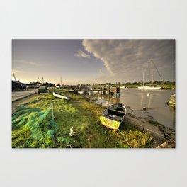 Southwold Harbour  Canvas Print