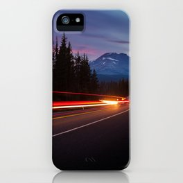 Curvy Mountain Road iPhone Case