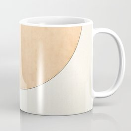 Imperial Beige - Moon Minimalism Coffee Mug