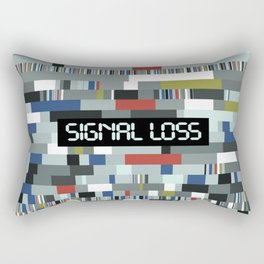 Signal Loss Rectangular Pillow