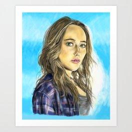 Alicia Clark Art Print