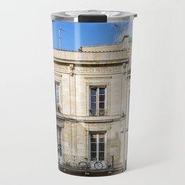 Old building in  Bordeaux Travel Mug