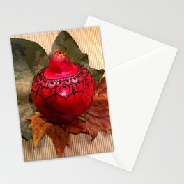 Henna Inspired Hand Painted Pomegranate  Stationery Cards