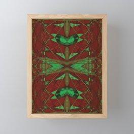 Faceted Art Deco Framed Mini Art Print