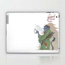 A Kup of Krampus Laptop & iPad Skin