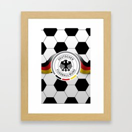 Germany Phone Case Framed Art Print