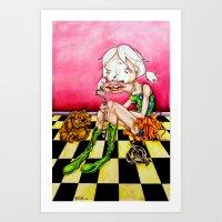 Dear ABBEY Art Print