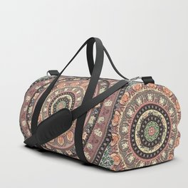 Cat Yoga Medallion Duffle Bag
