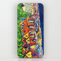 Boathouse Row  iPhone & iPod Skin
