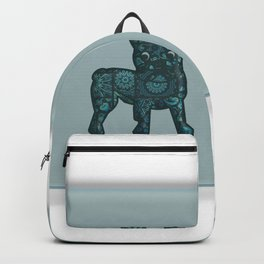 Patches French Bulldog Twins Backpack