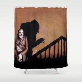 Nosferatu - A Symphony of HORROR! Shower Curtain