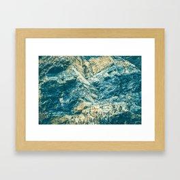 Laminate Rock Framed Art Print