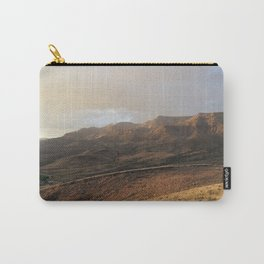 Getting late on the painted hills Carry-All Pouch