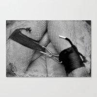 bondage Canvas Prints featuring Vintage Bondage by davehare
