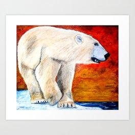Summer of the Polar Bear Art Print