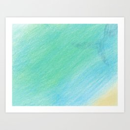 Oceanic art Art Print