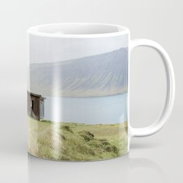 House in front of the lake Coffee Mug