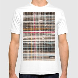 structure with red lines T-shirt