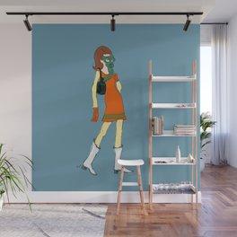Air Pollution Chic: Edith Wall Mural