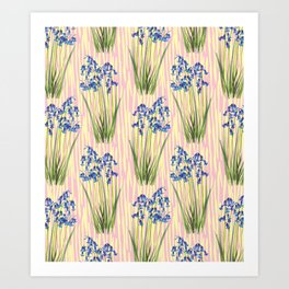Bluebell Meadow Art Print