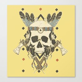 DEAD INJUN Canvas Print