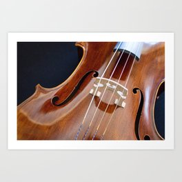 Cello Admiration Art Print