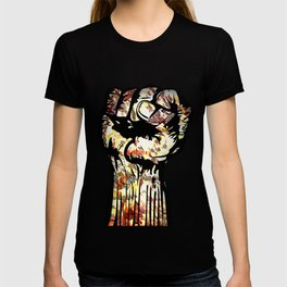 Resist with Art  by Eric Stamps  T-shirt