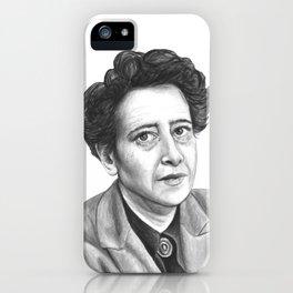Hannah Arendt iPhone Case