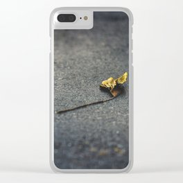 Grow old Clear iPhone Case