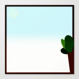 Mexican desert day Canvas Print