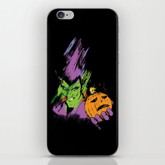 The Green Goblin iPhone & iPod Skin