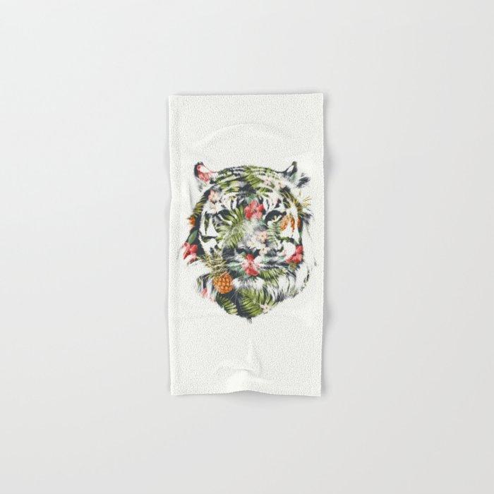 Tropical tiger Hand & Bath Towel