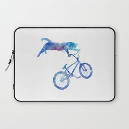 BMX Cat Laptop Sleeve