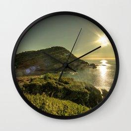 Ilfracombe Refraction Wall Clock