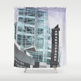 Chicago Shakespeare Theater  Shower Curtain