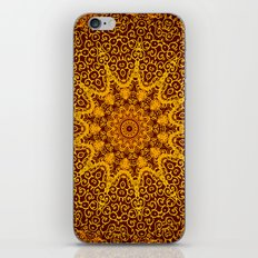 indian hand patterns iPhone & iPod Skin
