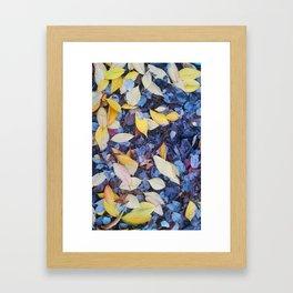 Alexandria Leaf Pattern I Framed Art Print