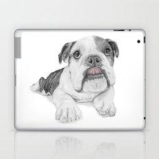 A Bulldog Puppy Laptop & iPad Skin