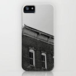italy black iPhone Case