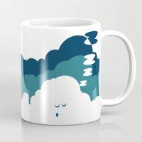cloud Mugs featuring Cloud by Herber Crispin