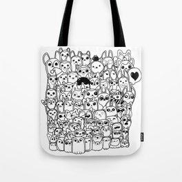 Huskies! Tote Bag