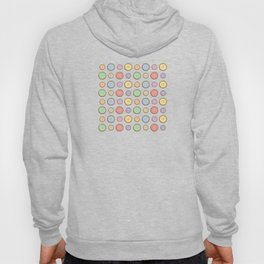 Rainbow Buttons  Hoody