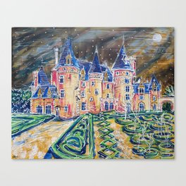 Chateau 3,366,000 Canvas Print