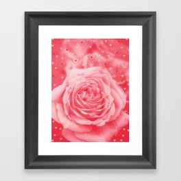 Valentine Rain Framed Art Print