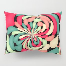 Colorful rubber balloons Pillow Sham